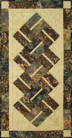 1237 best Quilts: Table Runners/Wall Hangings/etc. Table Runner And Placemats, Table Runner Pattern, Quilted Table Runners, Quilt Placemats, Small Quilts, Mini Quilts, Batik Quilts, Scrappy Quilts, Place Mats Quilted