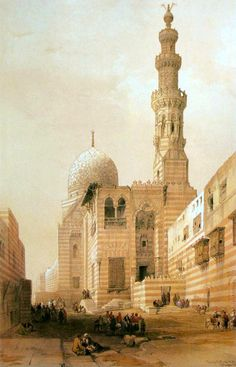 David Roberts - Mosque Of The Sultan Kaitbey.