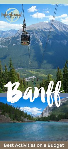 Hiking biking camping scenic drives and where to stay in Banff Alberta Canada on a budget Camping Places, Camping And Hiking, Places To Travel, Travel Destinations, Hiking Gear, Camping Tips, Hiking Trails, Moraine Lake, Best Of Banff