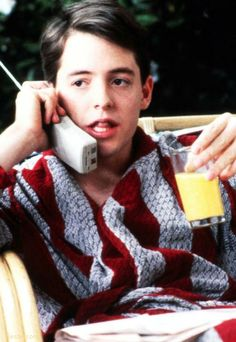 "We used to rent ""Ferris Bueller's Day Off"" from Blockbuster a lot. Then, we found out it was on Comedy Central all the time."