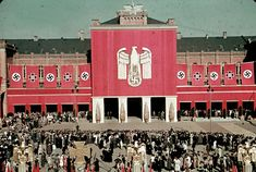 Reich Veterans Day, 1939 | A Brutal Pageantry: The Third Reich's Myth-Making Machinery, in Color | LIFE.com