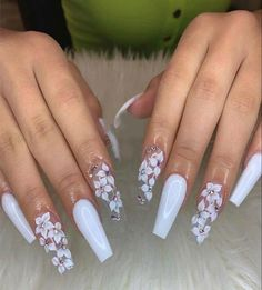 Cute Acrylic Nail Designs, Best Acrylic Nails, Summer Acrylic Nails, Disney Acrylic Nails, Spring Nails, Nail Swag, Fire Nails, Coffin Nails Long, Dream Nails