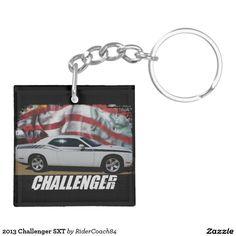 2013 Challenger SXT Keychain