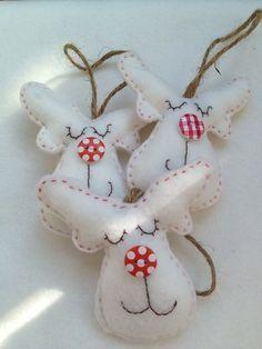 Voor kerst van vilt! Zelf maken? Kijk voor vilt eens in dé online viltwinkel www.bijviltenzo.nl