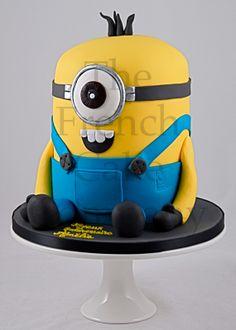 Cake for boys Minion - Gateau D'anniversaire Pour Enfants Garcon Minion - Verjaardagstaart