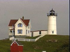 Love Lighthouses..and this one is Nubble Light-30 mins from where I used to live