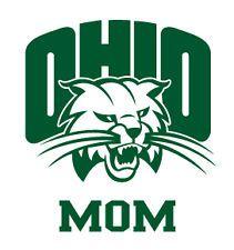 Ohio University Bobcats MOM Clear Vinyl Decal Car Truck Sticker