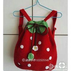 36 New Ideas For Crochet Bag Kids Girls Tutorials Crochet Girls, Cute Crochet, Crochet For Kids, Crochet Baby, Knit Crochet, Crochet Handbags, Crochet Purses, Knitting For Kids, Baby Knitting