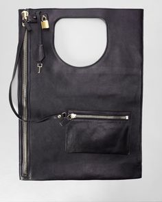 Tom Ford Lock Flat Fold-Over Bag