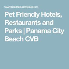 Pet Friendly Hotels, Restaurants and Parks | Panama City Beach CVB