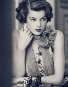 The Great Gatsby - Photo by Signe Vilstrup for Harrods Magazine