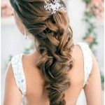 Half Up Half Down Wedding Hairstyles | Hbk Studio