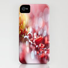 Red For Today iPhone Case by Marisa M. Johnson  - $35.00