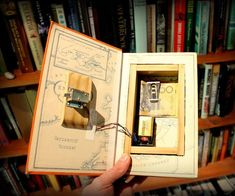 Over the years I've made a whole bunch of book safes. A couple of them I posted on Instructables and can be found here and here. To make the book safes that...
