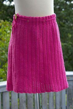 Svarta Fåret : Virkad kjol