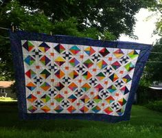 joe tulips quilts: April blocks are a top.....