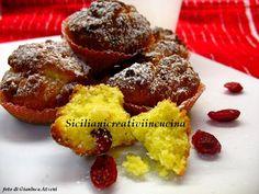 Mini muffins di mais al ribes