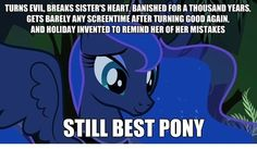 Luna is Best Princess and rainbow is best pony My Little Pony Princess, Mlp My Little Pony, My Little Pony Friendship, Royal Princess, Dessin My Little Pony, My Little Pony Drawing, Mlp Memes, Celestia And Luna, My Little Pony Characters
