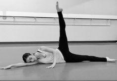 Ballet floor barre video now for sale. Strengthen…