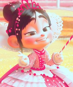 """all hail the rightful ruler of sugar rush, Princess Vanellope.""♡"