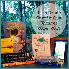 Homeschool Curriculum Choices 2014-2015