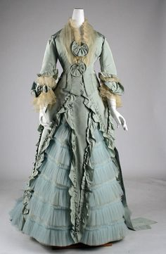 1873 evening dress