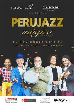 LIMA VAGA: Perú Jazz presenta disco 'Mágico'