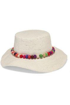 H/&M Boys Summer Fedora Straw Hat Blue Leaf Blue Straw Black//Gray Pool Beach hat