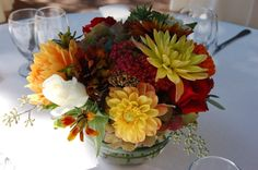 Country Garden Flowers - Napa and Sonoma County Wedding Florist Hall Winery, Sonoma County, Flower Centerpieces, Fall Flowers, Favors, Table Decorations, Simple, Garden, Wedding