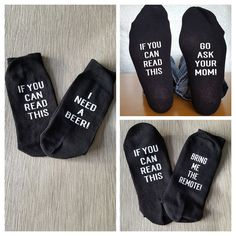 Personalised Socks Stocking Filler Novelty by DaisyDotFlamingo