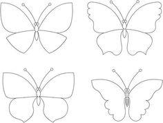 Schmetterling vorlage diy ideas pinterest vorlage for Bastelvorlage schmetterling kostenlos