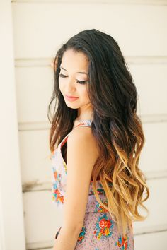 Blonde dip dye on Pinterest | Dip Dye, Ombre and Ombre Hair