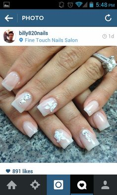 Like without the jewels Bed Of Nails, Hair And Nails, Nail Polish Designs, Nail Art Designs, Manicure, Mani Pedi, Modern Nails, Purple Nails, Nails On Fleek