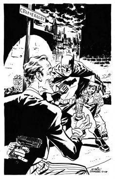 Batman & Joker - Chris Sammee