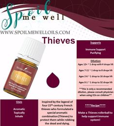 Thieves Essential Oil, Young Living Essential Oils, all natural living, dilution ratios