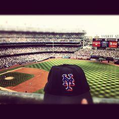 Mets game. Go #redsox ha