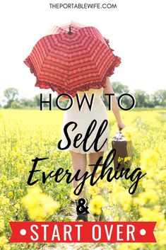Ready to sell everything and move abroad? Use this guide to moving abroad with a fresh start, especially if you want to sell everything and travel. Learn how to start over in life with this moving checklist. Moving Checklist, Moving Tips, Moving Humor, Quotes About Moving On In Life, Planning A Move, Moving Overseas, Moving To Australia, What To Sell, Sell My House