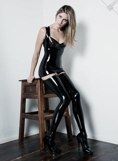 Latex bdsm clothing was
