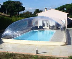 1000 ideas about piscine gonflable on pinterest bou e - Piscine a bulle gonflable ...