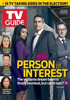 Person of Interest, TV Guide