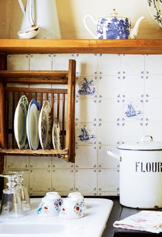 tiles and kitchenware