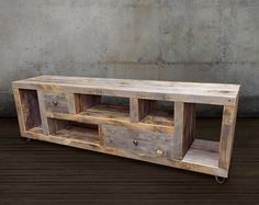 reclaimed tv standmedia consolewood credenza