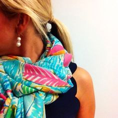 lilly & pearls. you can't go wrong.