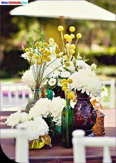 vase mason jar centerpieces for wedding
