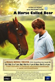 Checkout the movie 'A Horse Caller Bear' on Christian Film Database: http://www.christianfilmdatabase.com/review/horse-caller-bear/