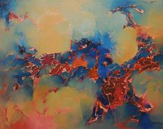 """""""Las migraciones clandestinas"""" - Heriberto Zorrilla - Oleo sobre tela - 120 x 150 cm www.esencialismo.com"""