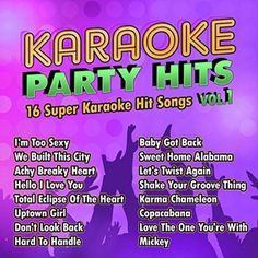 Karaoke Party Hits, Vol. 1