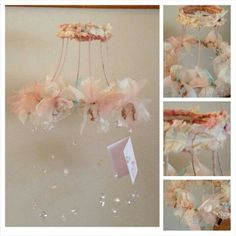 Is this not the cutest mobile for a baby girls room?? I'm obsessed... it's also…