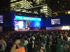 Luminato 2012 kicked off with K'NAAN & he is still going strong, so is the crowd here, just pure love! - Tweeted by @Flip_Publicity