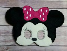 Check out this item in my Etsy shop https://www.etsy.com/listing/248086988/minnie-mouse-mask-pretend-play-mask
